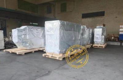 二手DVD塑料盒胶膜自动包装机等进口手续流程案例完结